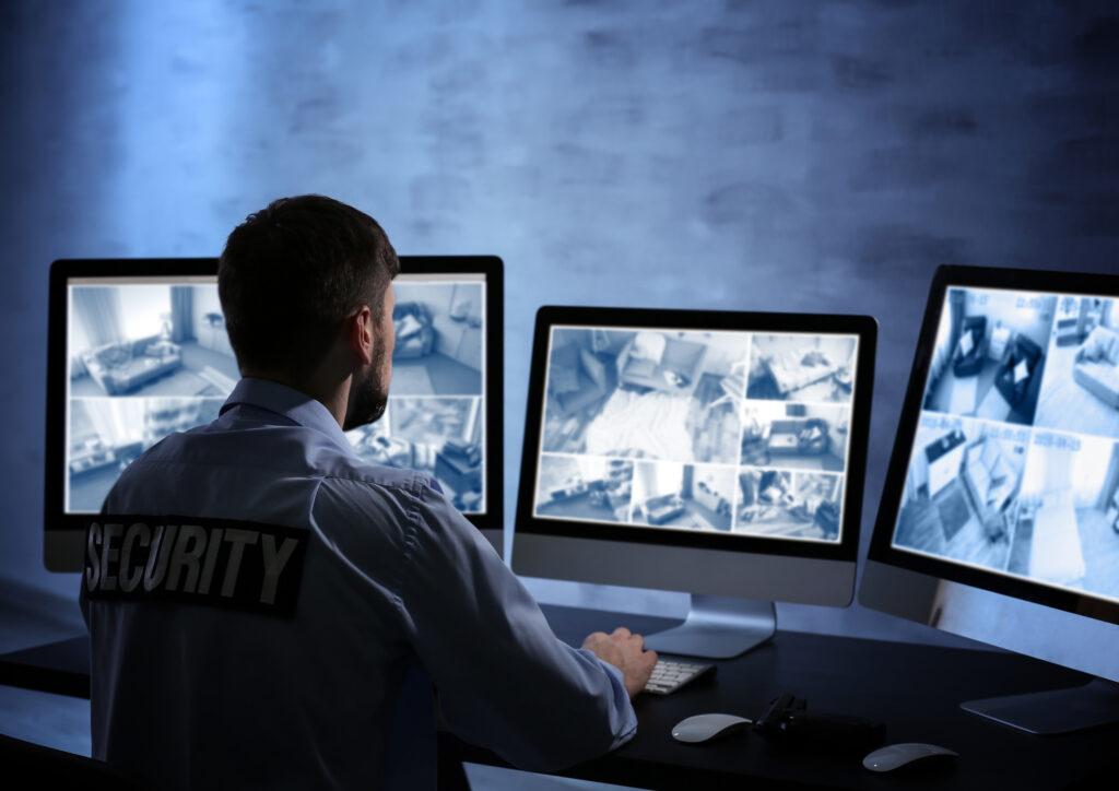 Monitoring Security Cameras